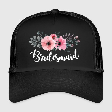Morsiusneito lahjat. Hen Do Party. Polttarit - Trucker Cap