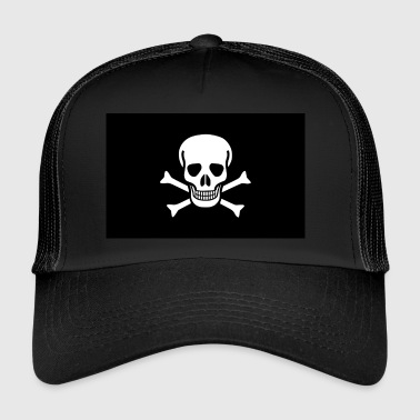 The Skull & Crossbones! - Trucker Cap