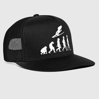 Evolution Ski long jump ski flying ski jumping - Trucker Cap