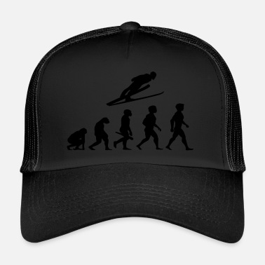 Ski Jumping Evolution Ski long jump ski flying ski jumping - Trucker Cap