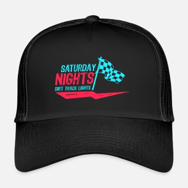Motor Race Car Racing Motor Race Gift sabato sera - Trucker Cap