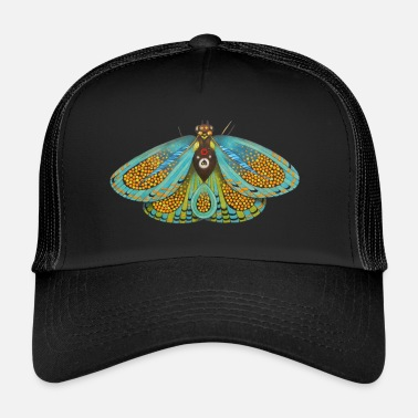Psychedelic Psychedelic butterfly - Trucker Cap