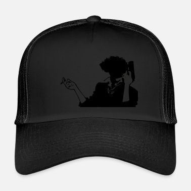 Anime Cowboy bebop spike HQ simple - Trucker Cap