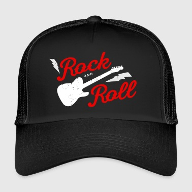 ROCK AND ROLL - Trucker Cap