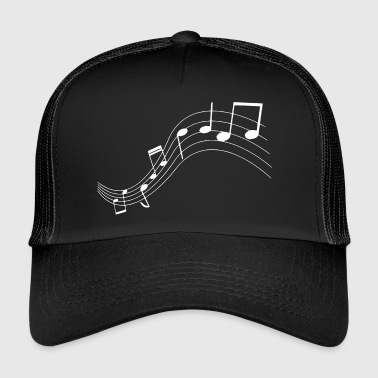 Music notes music notes - Trucker Cap