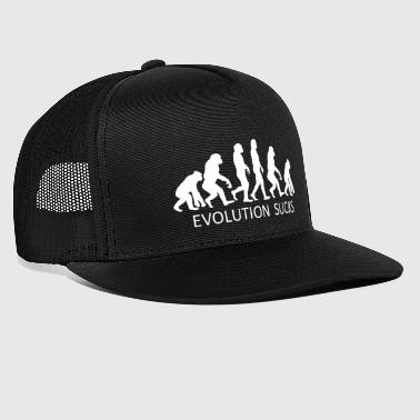 ++ ++ Evolution Sucks - Trucker Cap