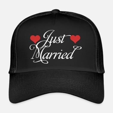 Wedding Just Married - Trucker Cap