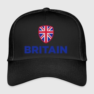 National Flag Of Great Britain - Trucker Cap