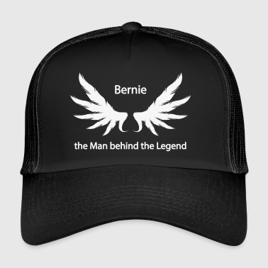 Bernie the Man behind the Legend - Trucker Cap