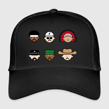 People from the Village Music | Band | CSD | Gay - Trucker Cap