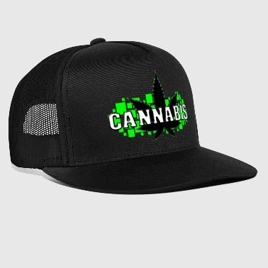 Weed - Grass - Smoke - Smoking - Trucker Cap
