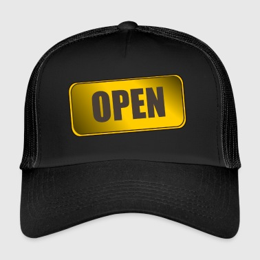 OPEN - Trucker Cap
