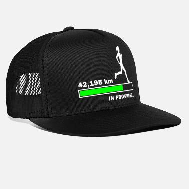 42.195 km in Progress - Trucker Cap