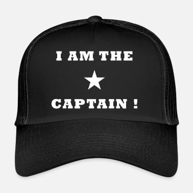 Capitaine Je suis le capitaine - Trucker Cap