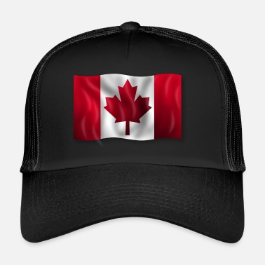 Canadiske Flag Canadiske flag - Trucker Cap