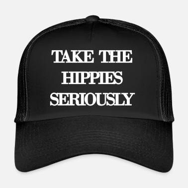 Serie Mundial Tomar en serio a los hippies - Gorra de camionero ffb8beba7b5