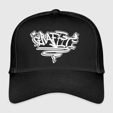 Graffiti Tag Graffiti - Trucker Cap