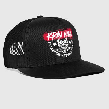Krav Maga - So That May May Walk In Peace - Trucker Cap