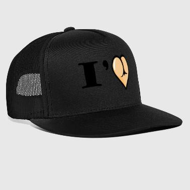 love butt - Trucker Cap