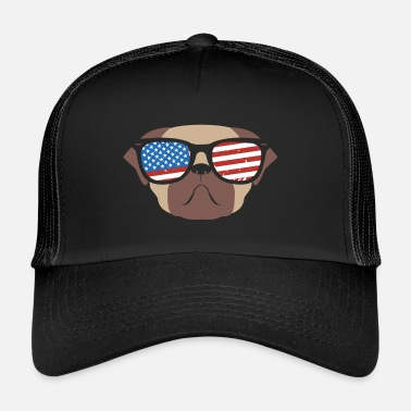 Scottish 4th of July Independence Day - Trucker Cap