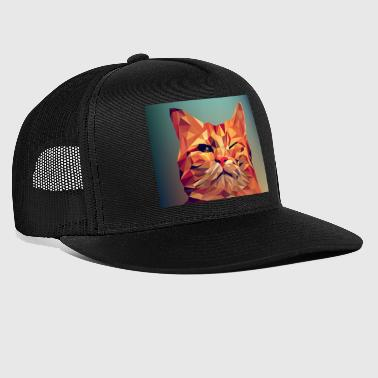 illustration d'un chat - Trucker Cap