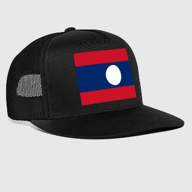 Laos flag - Trucker Cap