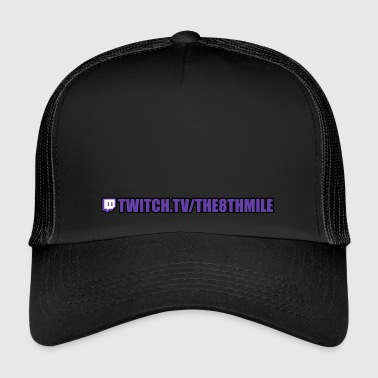 Twitch twitch.tv/the8thmile - Trucker Cap
