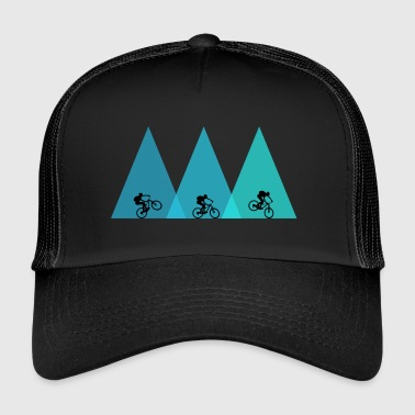 Mountain Bike MTB mountain bike mountain biking - Trucker Cap