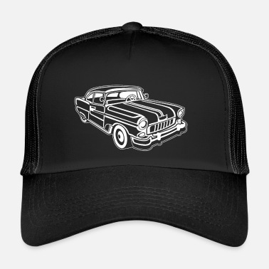 Chevy Chevy Cadilac / Muscle Car 02_weiß - Trucker Cap