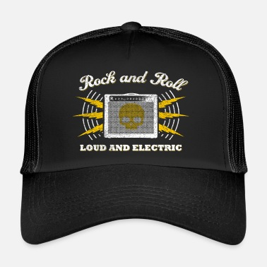 Andit Rock and Roll. Loud and Electric (kuluneet) - Trucker Cap