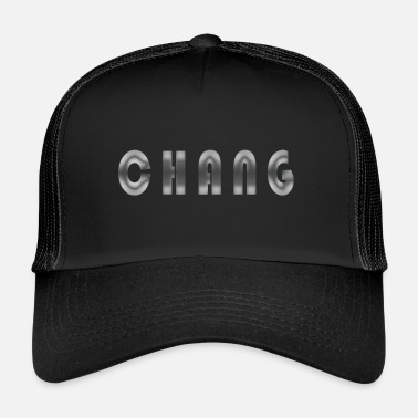 Birth Name First name Chang Name Name day Birth Gift idea - Trucker Cap