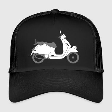 Scooter - Trucker Cap