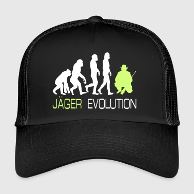 Evolution - Jakt T-skjorte for jegere gave - Trucker Cap