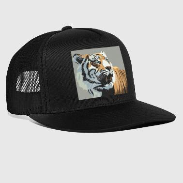 Tiger Illustration - Trucker Cap