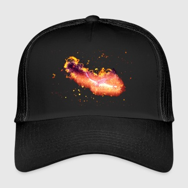 Atlantis Dragon fantasy brænding - Trucker Cap