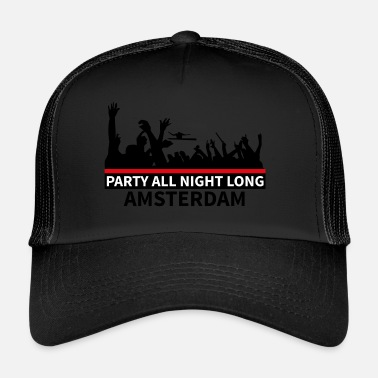 Amsterdam AMSTERDAM Party - Trucker Cap