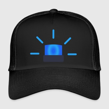 blue light - Trucker Cap
