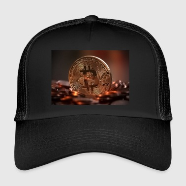 Bitcoin Coin - Trucker Cap