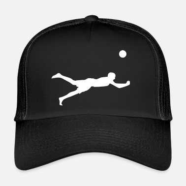 Beach Volley Joueur de beach-volley sportif - Trucker Cap