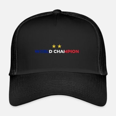 Monde Champion du monde de football France - Trucker Cap