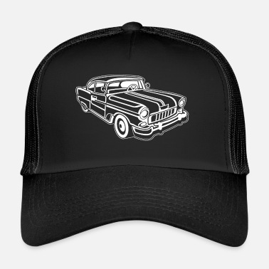 Chevy Chevy Cadilac / Muscle Car 02_white - Trucker Cap