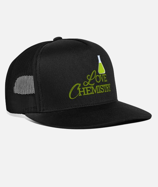 Periodic Table Caps & Hats - Chemistry / Chemistry: Love Chemistry - Trucker Cap black/black