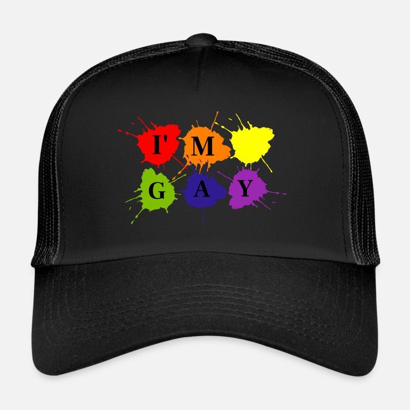 homoseksuel med hatte på