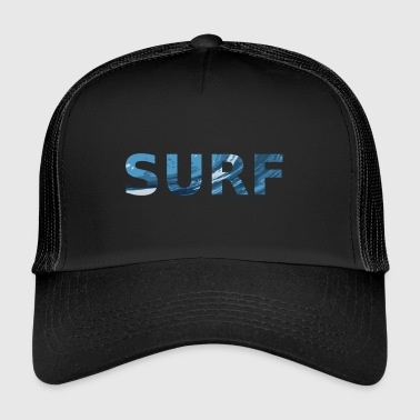 Surfing Surf - Trucker Cap