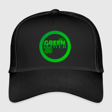 GREEN POWER - Trucker Cap