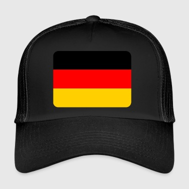 Germany Flag Germany Flag, Germany Flag, National - Trucker Cap