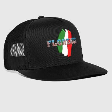 Florence Florence with Italian flag - Trucker Cap