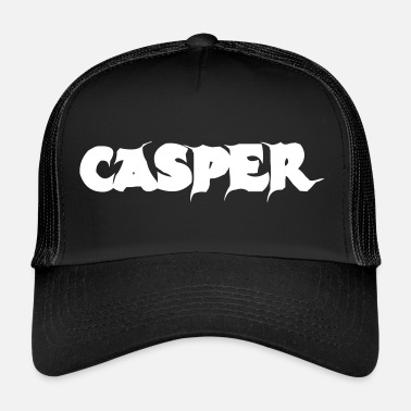 Casper Casper, cool lettering with a lot of ambiguity - Trucker Cap