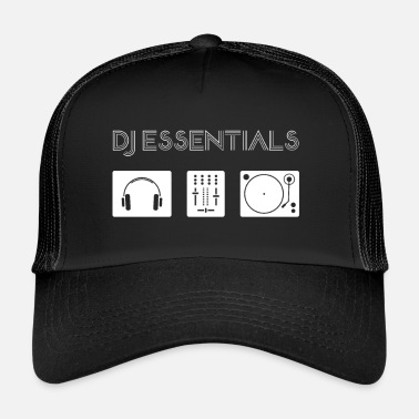 Dj DJ Essentials - platine, table de mixage, casque 2 - Trucker Cap