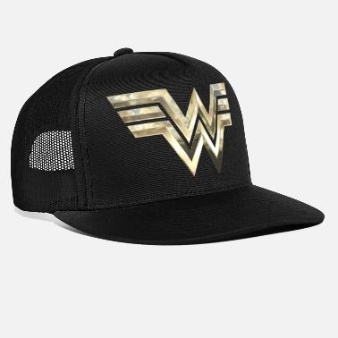 Wonder Woman 1984 Logo Classic Gold - Trucker cap